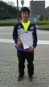 15冬中学生男子シングルス優勝者