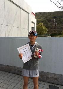 16春B級シングルス女子優勝