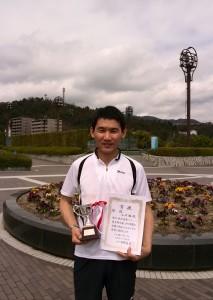 16春B級シングルス男子優勝