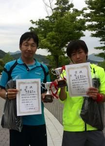 16春B級ダブルス男子優勝者