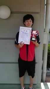 16春D級シングルス男子優勝